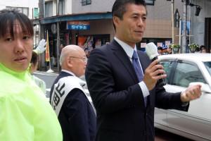 15.4.22山田候補の応援③