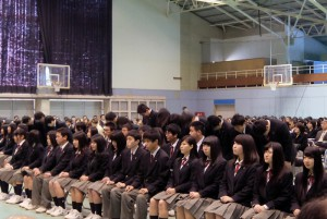 2016.3熱海高等学校卒業証書授与式①