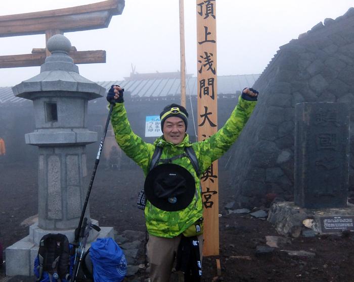 2016.8.2富士山頂上①