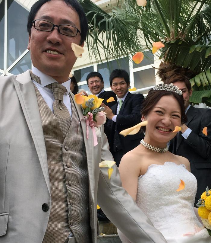 2017.1.23沖縄にて挙式①