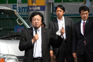 14.8.30JR熱海駅前街頭政談会①