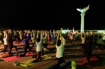 14.10.8皆既月食 MOONLIGHT & SUNRISE YOGA 2014 in ATAMI③