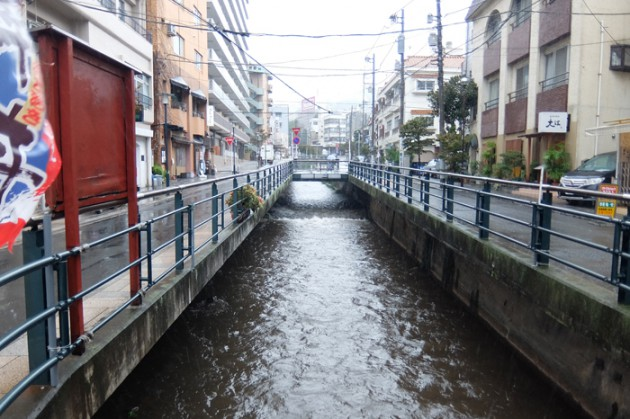 14.10.7台風接近(初川AM10時)
