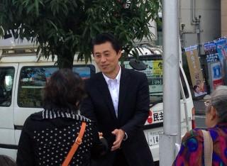14.11.03民主党街頭キャラバン⑤