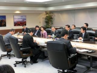 13.1.31民主党・ふじのくに県議団知事折衝①