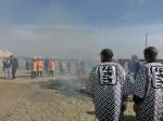 13.1.13 熱海サンビーチどんどん焼き②