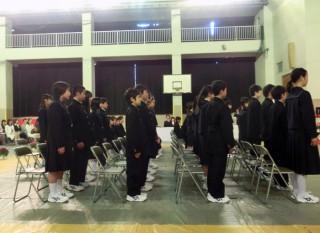 13.4.4熱海市立小嵐中学校入学式①