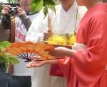 13.4.19撥扇塚供養祭②