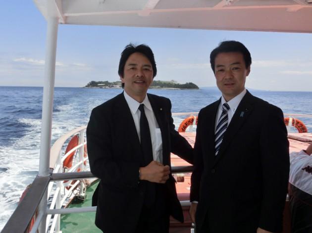 13.5.2榛葉県連会長と初島①