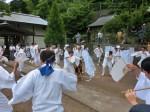13.7.20阿治古神社例大祭鹿島踊り奉納