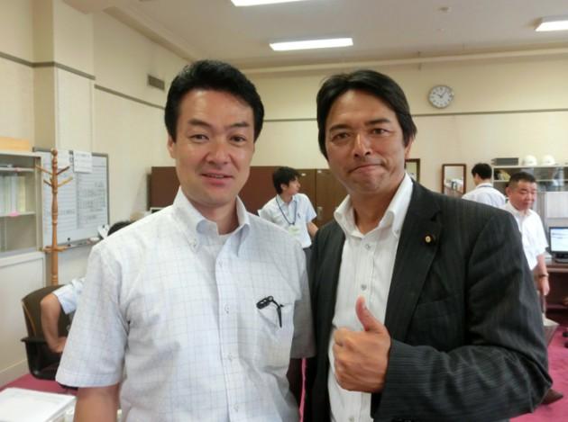13.7.21しんば賀津也参議院議員3選した翌日