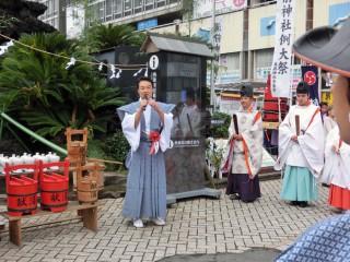 13.10.5湯前神社秋季例大祭③