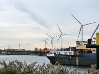 13.11.20アムステルダム風力発電所①