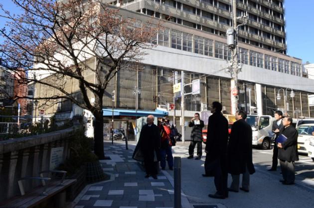 14.1.19川勝知事糸川あたみ桜①