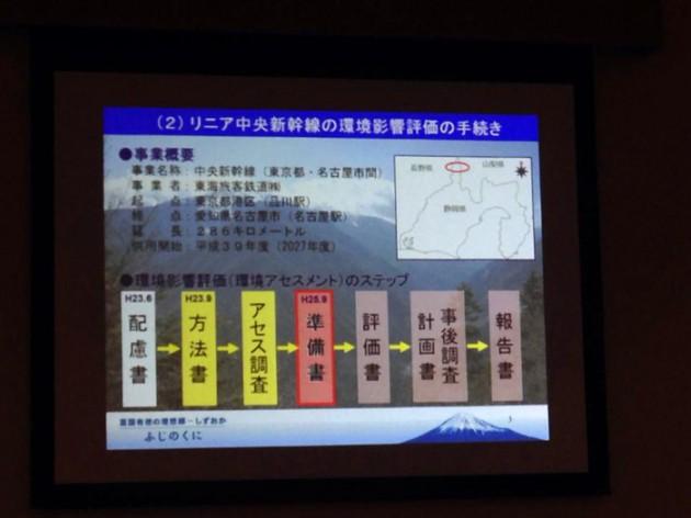 14.1.27民主党・ふじのくに県議団リニア勉強会②