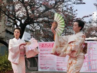 14.1.25第4回糸川桜まつり芸妓衆踊①