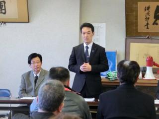 14.1.19川勝知事初島の皆様との意見交換会(橋本)