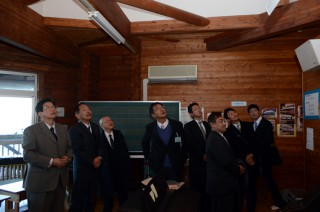 14.1.19熱海市立初島小中学校を視察⑨
