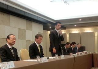 14.3.8民主党静岡県連第17回定期大会後の新体制常任幹事会