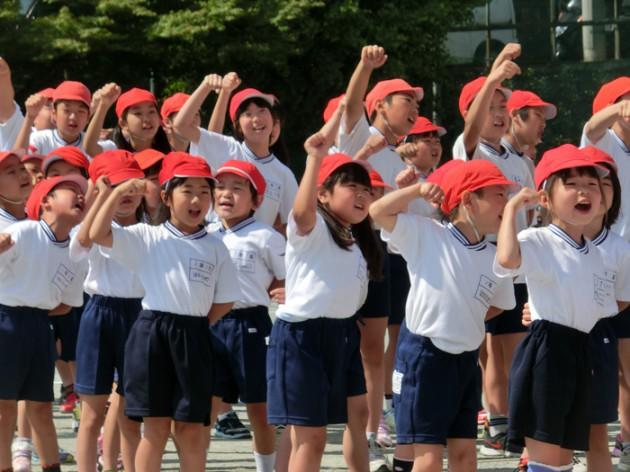 14.5.29熱海市立第二小学校第66回運動会①