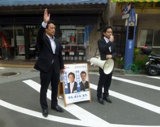 14.5.20街頭活動【清水町バス停前】④