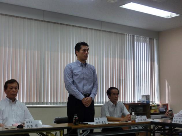 14.7.25民主党静岡県連常任幹事会①