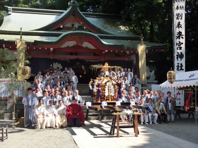 14.7.15来宮神社例大祭①