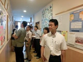 14.7.16岩倉学園視察④