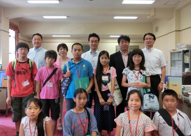 14.8.5ふれあい親子県議会教室⑥